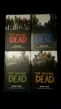 The Walking Dead - books 1-4 Pleasant Valley, 12569