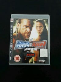 Smack Down VS Raw 2010 PS3 game case
