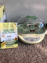 Baby bullet food steamer
