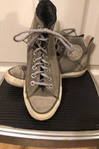 Converse suede High-tops/gum-sole boots Cypress, 90630