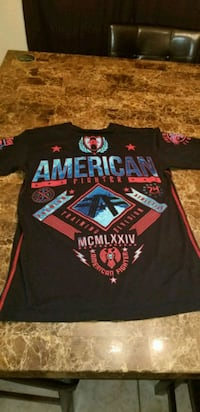 2 new american fighter shirts size medium  Edinburg, 78542