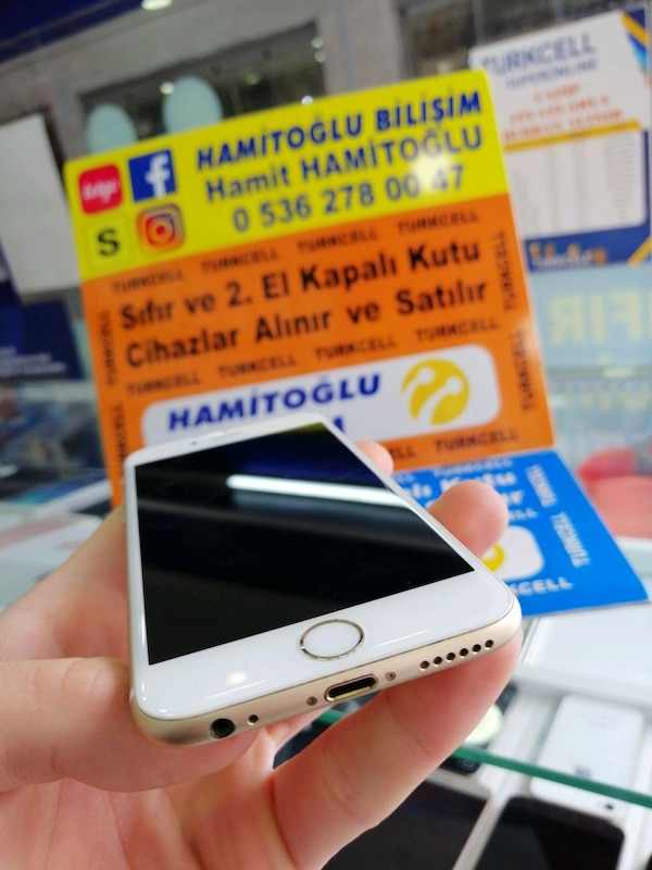 İPHONE 6s 32 gb gold 8aaded5c-2d43-4496-bc03-a05bea0c0d79