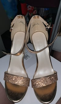 Rose gold high heels size 7.5 womens El Paso, 79915