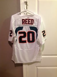 Brand New Authentic Nike Ed Reed Hurricanes Jersey Size Large Gretna, 70056