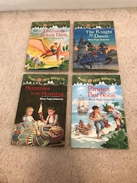 Magic Tree House book set