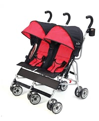 baby's black and red stroller Woodbridge, 22192