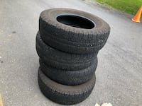 4 tires very good condition size is 265/ 70/17 $25.00  each Fairfax, 22033
