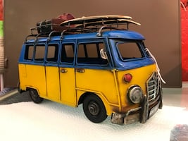 Yellow and blue truck toy