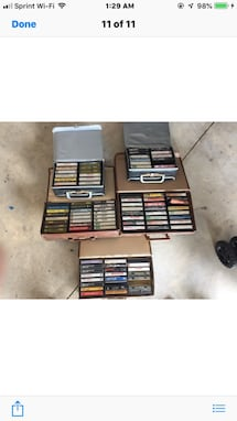 Over 100 Collectible cassettes , oldies and goodies!!