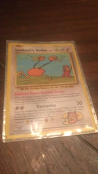 rare  pokemon card Orange, 92868