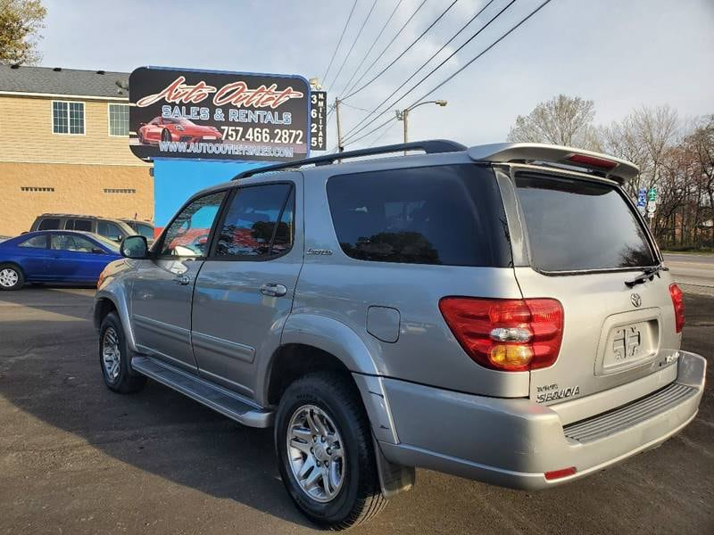 2003 Toyota Sequoia Limited 4WD 4dr SUV 373cfdfb-d2c3-4863-a9fc-9f382125bea8