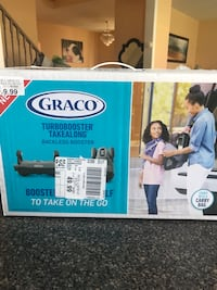 Graco Turbo Booster Seat w/ Travel Pack BRAND NEW Vaughan, L6A