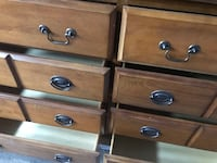 brown wooden 3-drawer chest Mississauga, L4X 1L2