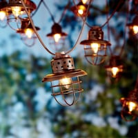 Metal LED String Lights Toronto