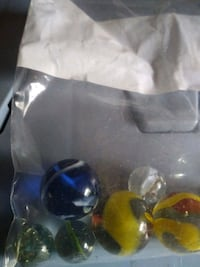 Small bag of marbles