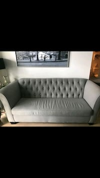 Grey couch Toronto, M6P 2W4