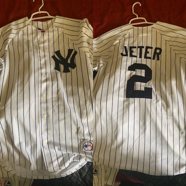 official photos 854a0 43645 Derek Jeter Jersey