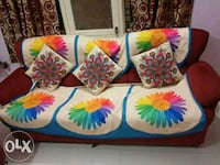 white, blue, and pink floral textile Bengaluru, 560043