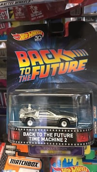 Hot Wheels Back to the Future Time Machine 2 scale model pack Whittier, 90602