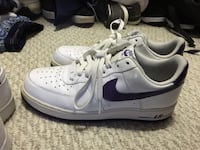 Nike purple swish  Air Force low 9.5 Pelham, 03076