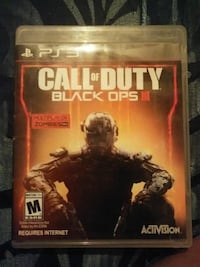 Call of Duty Black Ops III PS3 game case