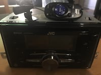 Black JVC 1-DIN head unit New York, 11220