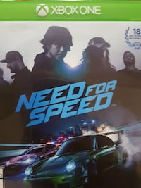 Need for Speed PS4 game case