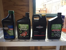 Small engine oil