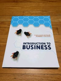Introduction to business Toronto, M9M 1T7
