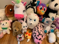 Whole Bunch of Stuffies - Pokemon, Secret Life of Pets, Ty, Emoji, Animals and More Vancouver