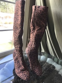 cheetah print boots Maple Valley, 98038