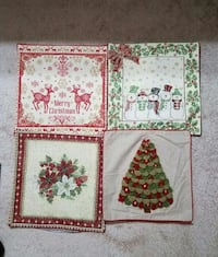 Pillow Covers 18x18 $5.00 each Price