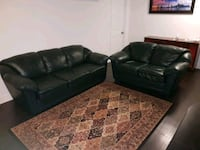 Leather couch and loveseat  Mississauga, L5R