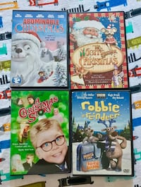 Christmas Movies for Kids, lot of 4 Stoneham, 02180