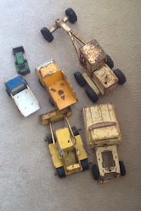 Vintage 1970s Tonka road grader and old Tonka toys Cool, 95614