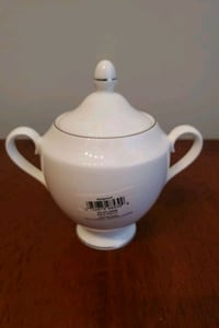 Wedgewood Signet Platinum China Sugar Bowl Alexandria, 22314