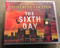 The Sixth Day (audio CDs) by Catherine Coulter  Manassas, 20109