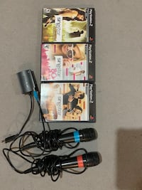 Playstation2 singstar set