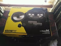black and yellow Kicker subwoofer speaker Norfolk, 23517