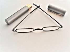 "NEGOTIABLE - ""OPRAH'S FAVORITE THING"" TINY GLASSES - SIZE OF A PEN"