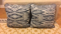 Matching Blue/Gray Patterned Pillows Raleigh, 27606