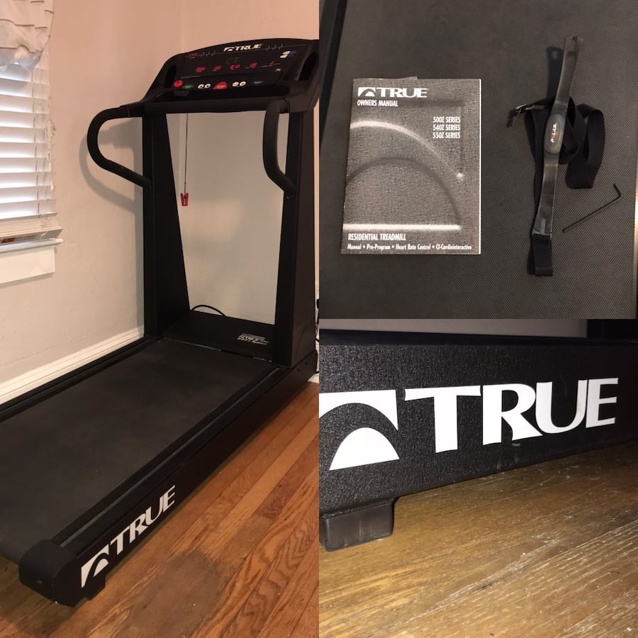 True Treadmill in Mint Condition