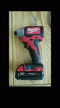 red and black Milwaukee cordless impact wrench Oakland, 94601