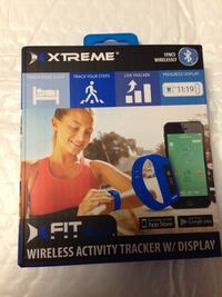 Xtreme fit wireless activity tracker box West Chicago, 60185
