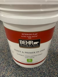 5 Gallon Paint & Primer In One Ultra Pure White 1050 Allentown, 18109
