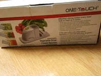 One touch vegetable slicer battery operated Toronto, M1B 1W5
