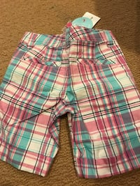 Brand new girl's shorts with adjustable waistband.  Gaithersburg, 20879
