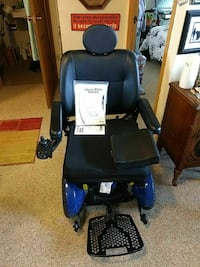 black and blue motorized wheelchair Westminster, 80021