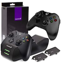 Dual Controller Charger Compatible with Xbox One, One X, One S