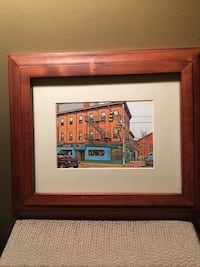 4 Framed Digitized Photos by Pittsburgh Artist Leroy Pettis Whitehall, 15227